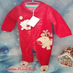 Pyjama de Noël pour bébé -...
