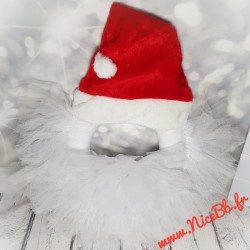 """Couronne de porte """"Père Noël"""""""