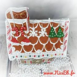 Boucles d'oreilles de Noël