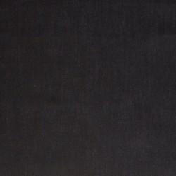 Popeline de coton noir...