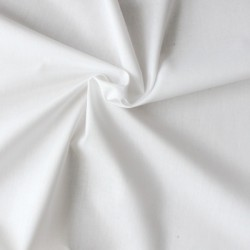 Tissu coton blanc grande...