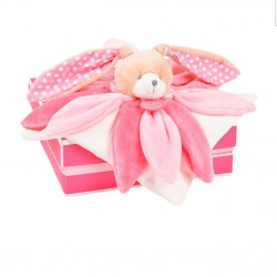 Doudou collector Lapin Rose...