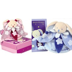 Doudou lapin collector -...