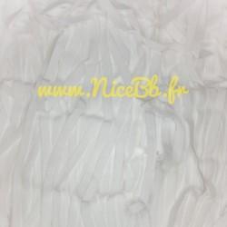 Elastique Blanc 7mm (vendu...